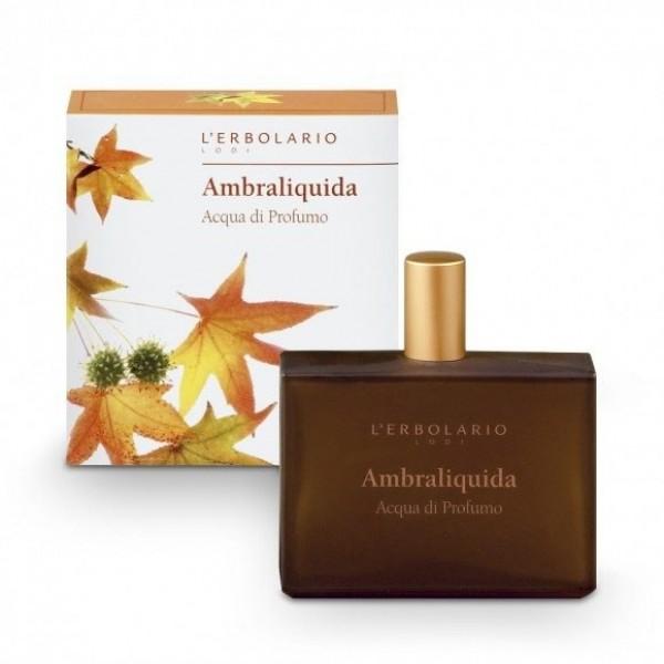 Acqua di Profumo Ambraliquida - 100 ml - Ambraliquida - L'Erbolario