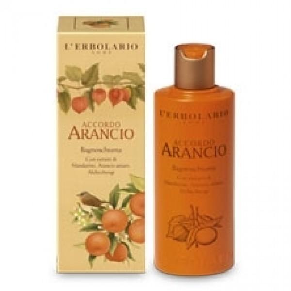 Bagnoschiuma - 250 ml - Accordo Arancio - L'Erbolario