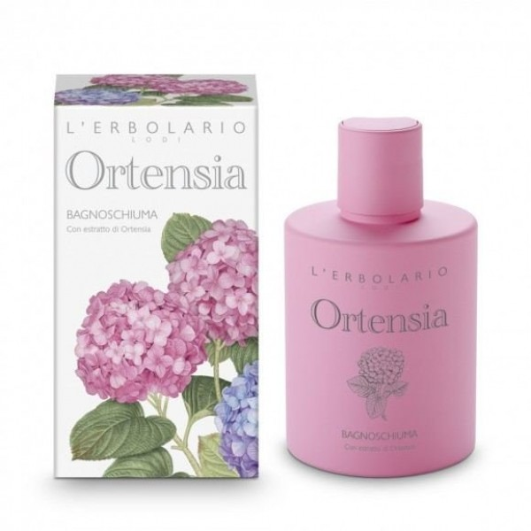 Bagnoschiuma - 300 ml - Ortensia - L'Erbolario