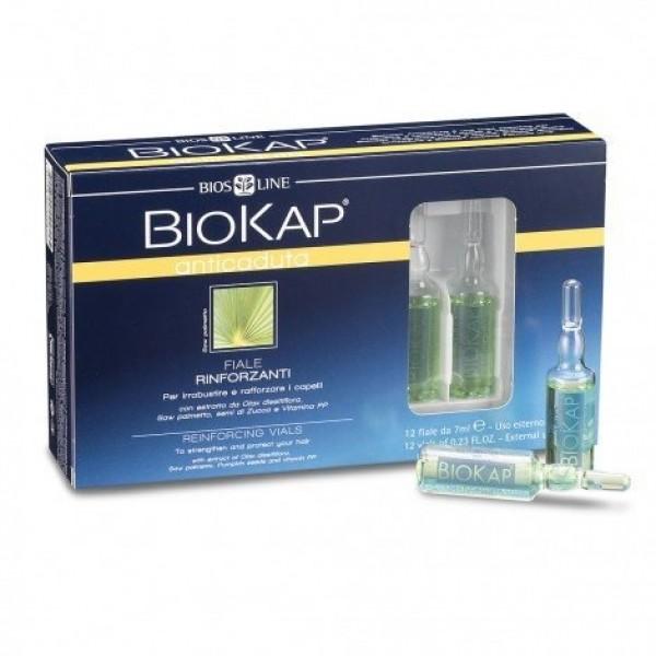 BioKap Anticaduta Fiale Rinforzanti - 12 x 7 ml - Biokap Anticaduta - Bios Line