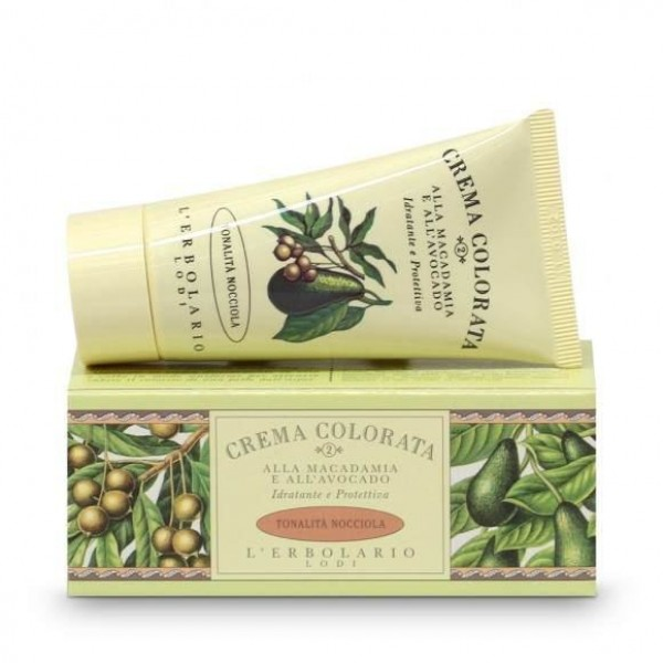 Crema Colorata alla Macadamia e all'Avocado - (nr. 2) tonalità Nocciola - 50 ml - Creme colorate - L'Erbolario