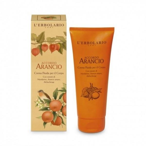 Crema Fluida per il corpo - 200 ml - Accordo Arancio - L'Erbolario