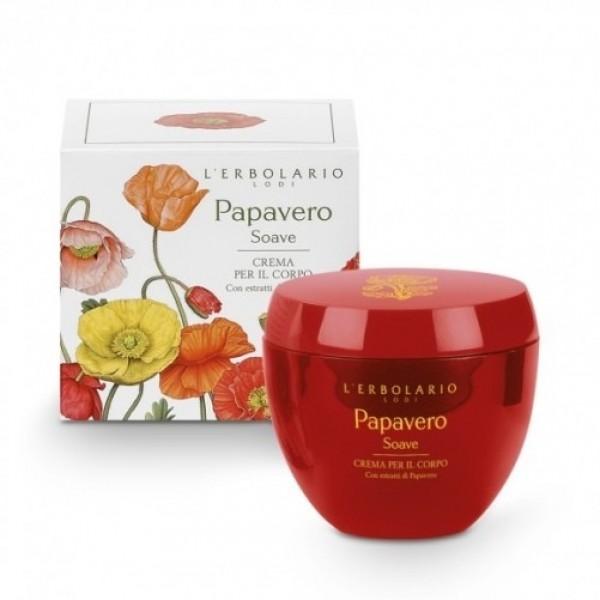 Crema per il Corpo - 200 ml - Papavero Soave - L'Erbolario