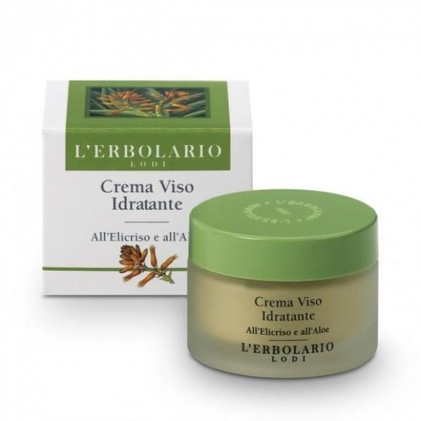 Crema Viso Idratante - 50 ml - Nutrire e Dissetare - L'Erbolario
