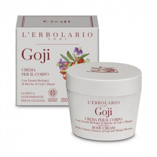 Goji Crema per il Corpo. - 200 ml - Goji - L'Erbolario