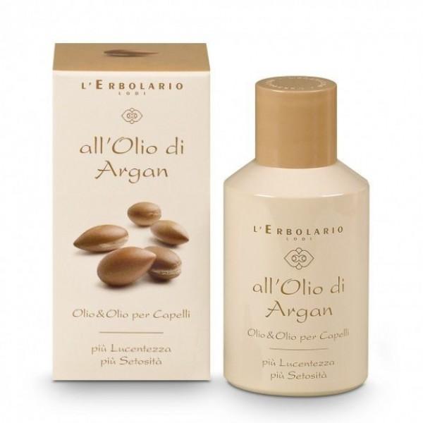 OlioeOlio per capelli - 100 ml - All'Olio di Argan - L'Erbolario