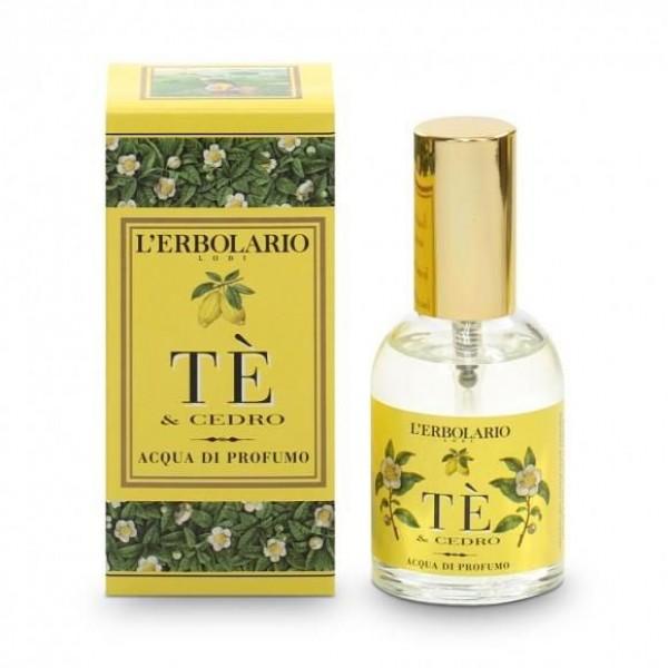 Tè e Cedro Acqua di Profumo - 50 ml - Tè e Cedro - L'Erbolario